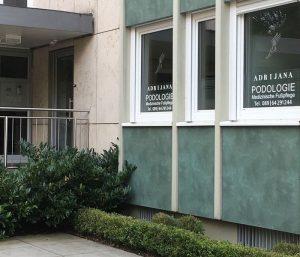 Podologie München Eingang
