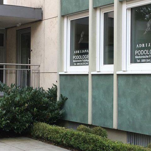 Podologische Praxis & Fußpflege-Ausbildung München