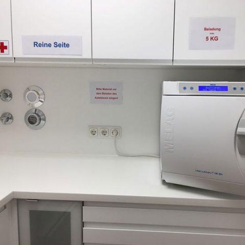 Podologie München Hygieneraum